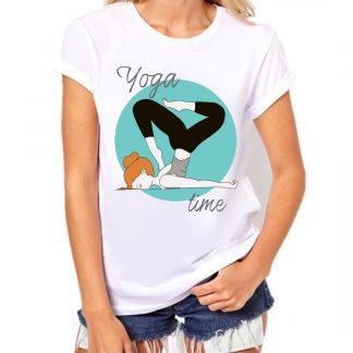yoga time camiseta divertida humor para chica compra envio gratis en peninsula españa bolsas de tela para yoga bolsa de deporte