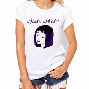 wait what camiseta mujer entallada outfit