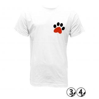 huella corazon mascota camisetas mascotas perros gatos hombre y mujer ilustracion camisetas tostada rojo diseño grafico diseños al horno