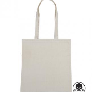 bolsa canvas natural tote bag