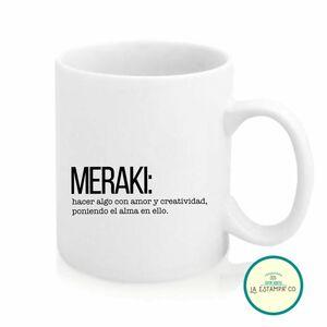 taza desayuno con palabras bonitas en griego y su significado meraki