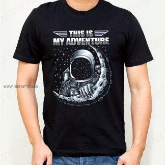 camiseta hombre space adventure