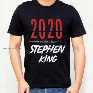 2020 escrito por stephen king camiseta sarcasmo humor chico hombre