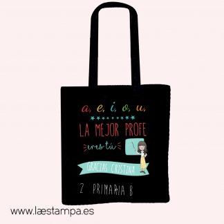 bolsa profe personalizada tote bag