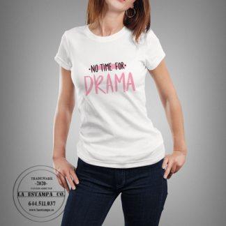 camiseta drama mujer original