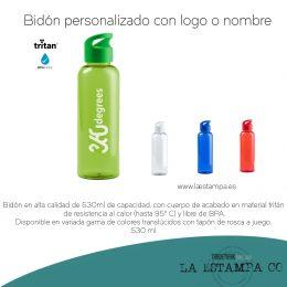 bidon personalizado con logotipo, regalos promocionales.