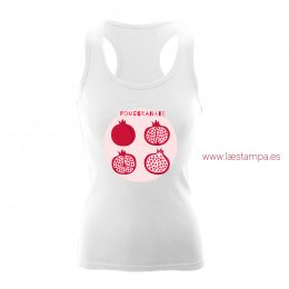 camiseta verano pomegranate