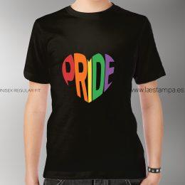 pride orgullo LGTBI camiseta unisex binario