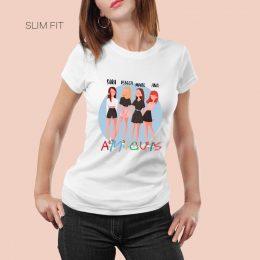 camiseta amigas personalizada