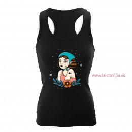 tank top mujer vintage tattoo camisetas de diseño